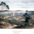 Hobart harbour early 1800s 十九世纪早期的霍巴特海港