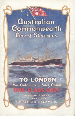 Australian Commonwealth Line of Steamers