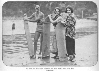 Betty Risby and friends