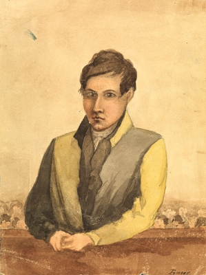 Convict Portrait. Tasmanian Archive and Heritage Office