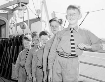 Fairbridge migrant boys