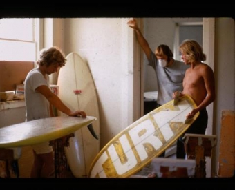 Turn Surboard factory by Dave Roberts and Ian Sherry