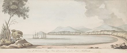 Cook's expedition at Adventure Bay, 1777