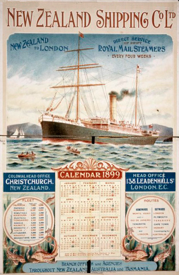 New Zealand Shipping Company poster